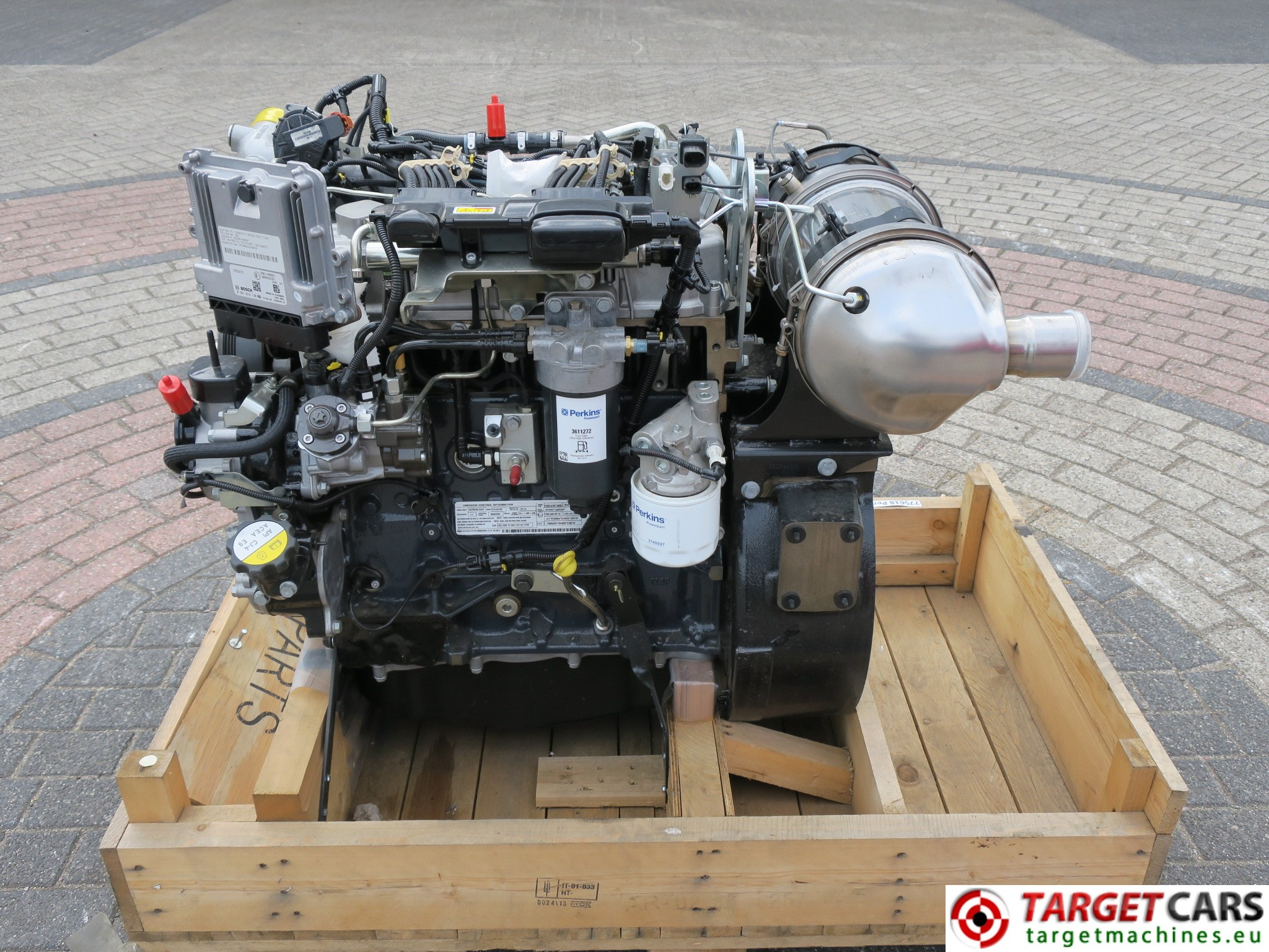 PERKINS 854E-E34TA DIESEL 4-CYLINDER ENGINE 62KW-2200RPM NEW/UNUSED
