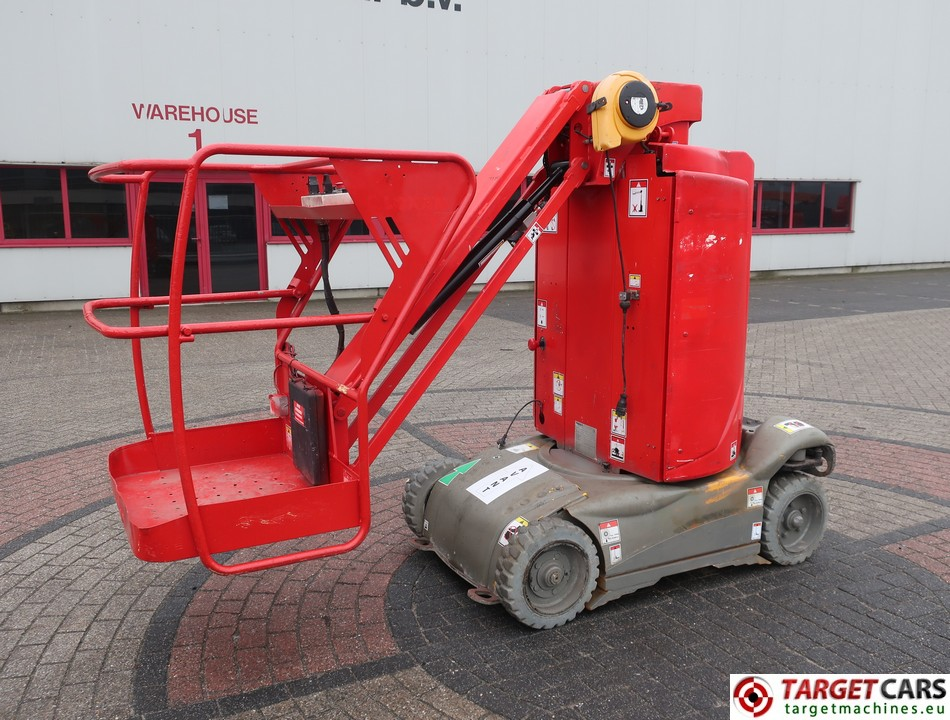 HAULOTTE STAR 10-1 VERTICAL MAST AERIAL WORK LIFT PLATFORM W/JIB ELECTRIC 2014 1000CM 524HRS