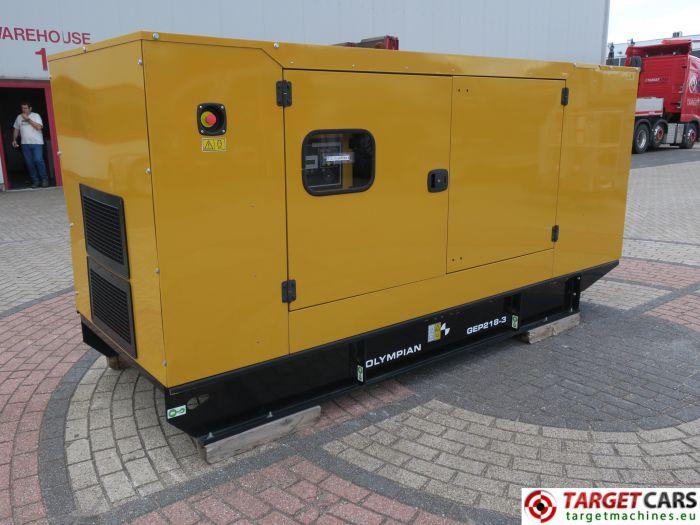 CAT OLYMPIAN GEP218-3 DIESEL GENERATOR SET 200KVA 400V/230V NEW/UNUSED 1HR 2015 S700129