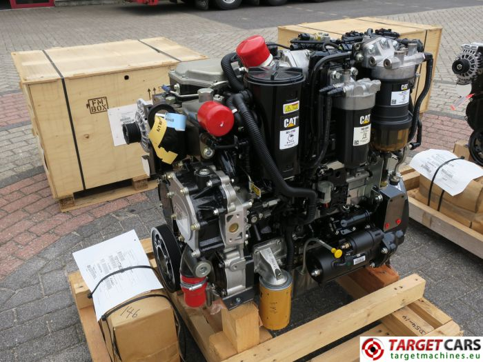 CAT C4.4 3638 4544421 DIESEL 4-CYLINDER ENGINE 106KW-2200RPM NEW/UNUSED