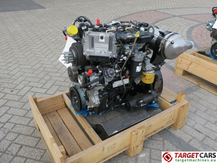 CAT C3.4B 443-5247 PERKINS DIESEL 4-CYLINDER ENGINE 75KW-2200RPM CJG04108 NEW/UNUSED