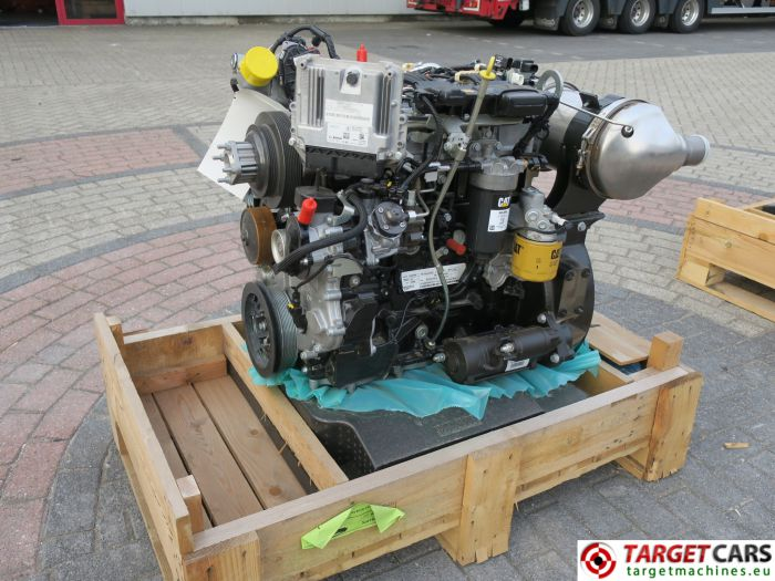 CAT C3.4B 443-5247 PERKINS DIESEL 4-CYLINDER ENGINE 75KW-2200RPM CJG04096 NEW/UNUSED