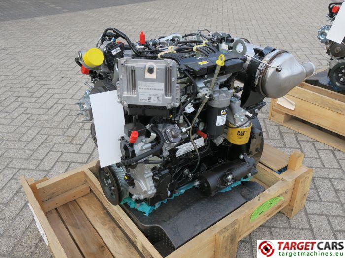 CAT C3.4B 443-5247 PERKINS DIESEL 4-CYLINDER ENGINE 75KW-2200RPM CJG04069 NEW/UNUSED