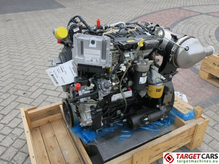 CAT C3.4B 443-5247 PERKINS DIESEL 4-CYLINDER ENGINE 75KW-2200RPM CJG04071 NEW/UNUSED