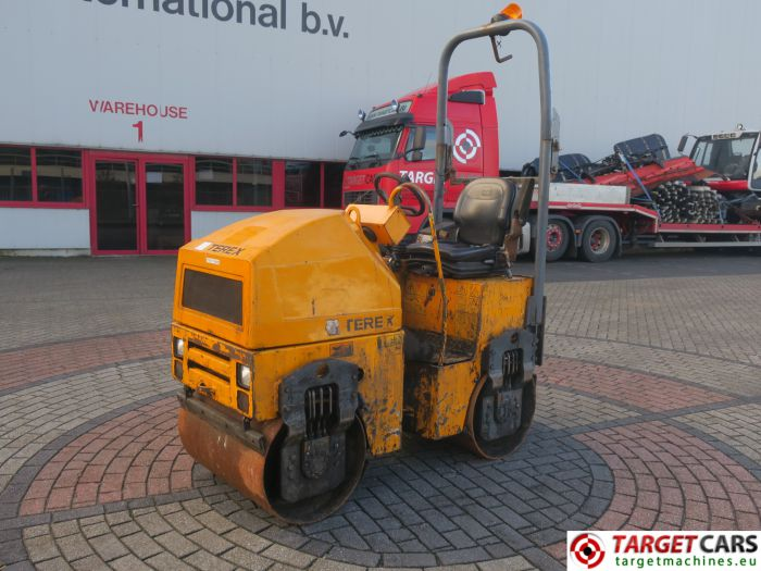 TEREX TV800K DOUBLE DRUM TV800 VIBRATORY ROLLER 2010 936H