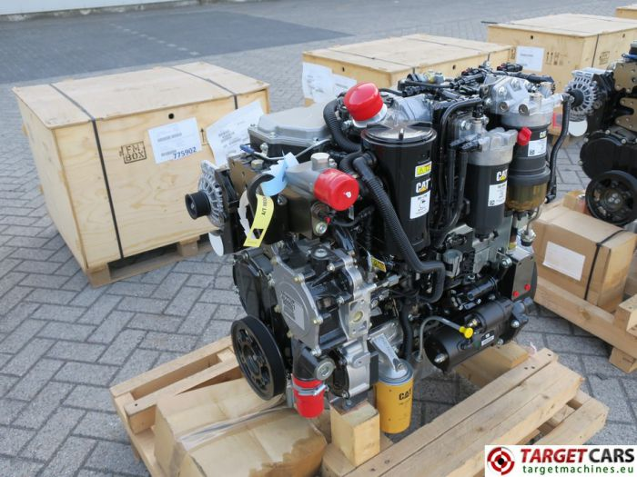CAT C4.4 3638 4544421 DIESEL 4-CYLINDER ENGINE 106KW-2200RPM 44807687 NEW/UNUSED