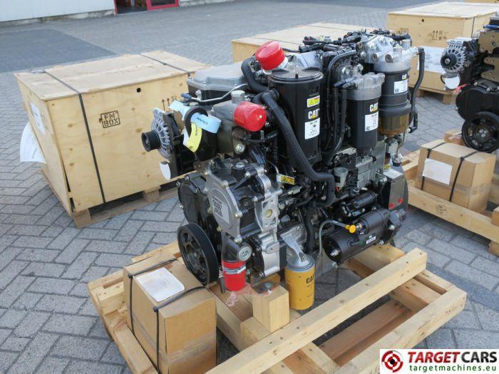 CAT C4.4 3638 4544421 DIESEL 4-CYLINDER ENGINE 106KW-2200RPM 44807449 NEW/UNUSED
