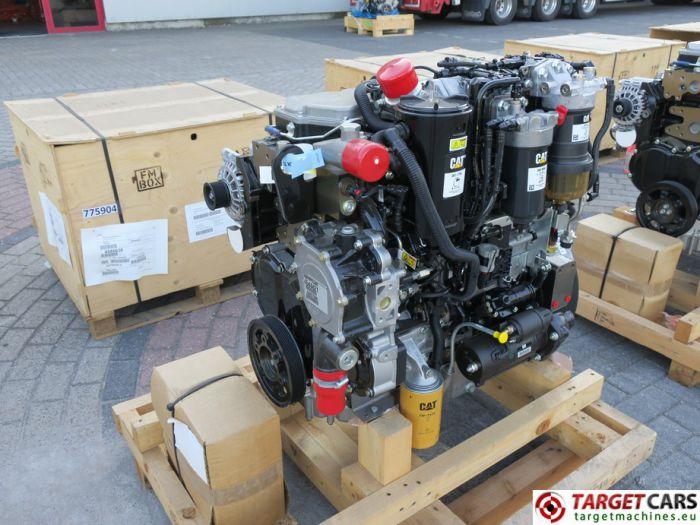 CAT C4.4 3638 4544421 DIESEL 4-CYLINDER ENGINE 106KW-2200RPM 44807688 NEW/UNUSED