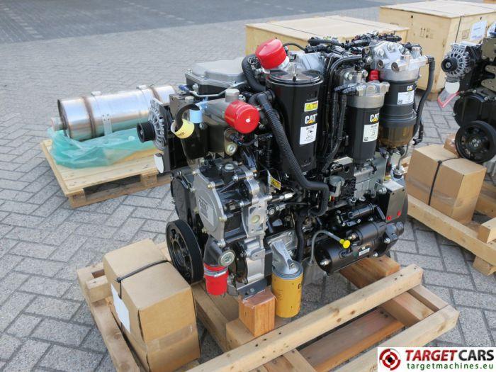 CAT C4.4 3638 4544421 DIESEL 4-CYLINDER ENGINE 106KW-2200RPM 44807524 NEW/UNUSED