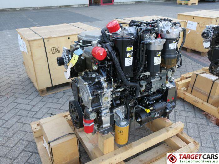 CAT C4.4 3638 4544421 DIESEL 4-CYLINDER ENGINE 106KW-2200RPM 44807447 NEW/UNUSED