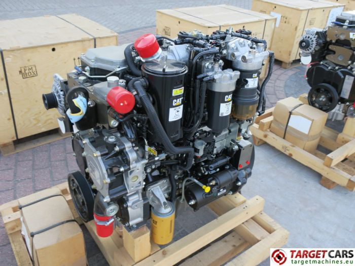 CAT C4.4 3638 4544421 DIESEL 4-CYLINDER ENGINE 106KW-2200RPM 44807526 NEW/UNUSED