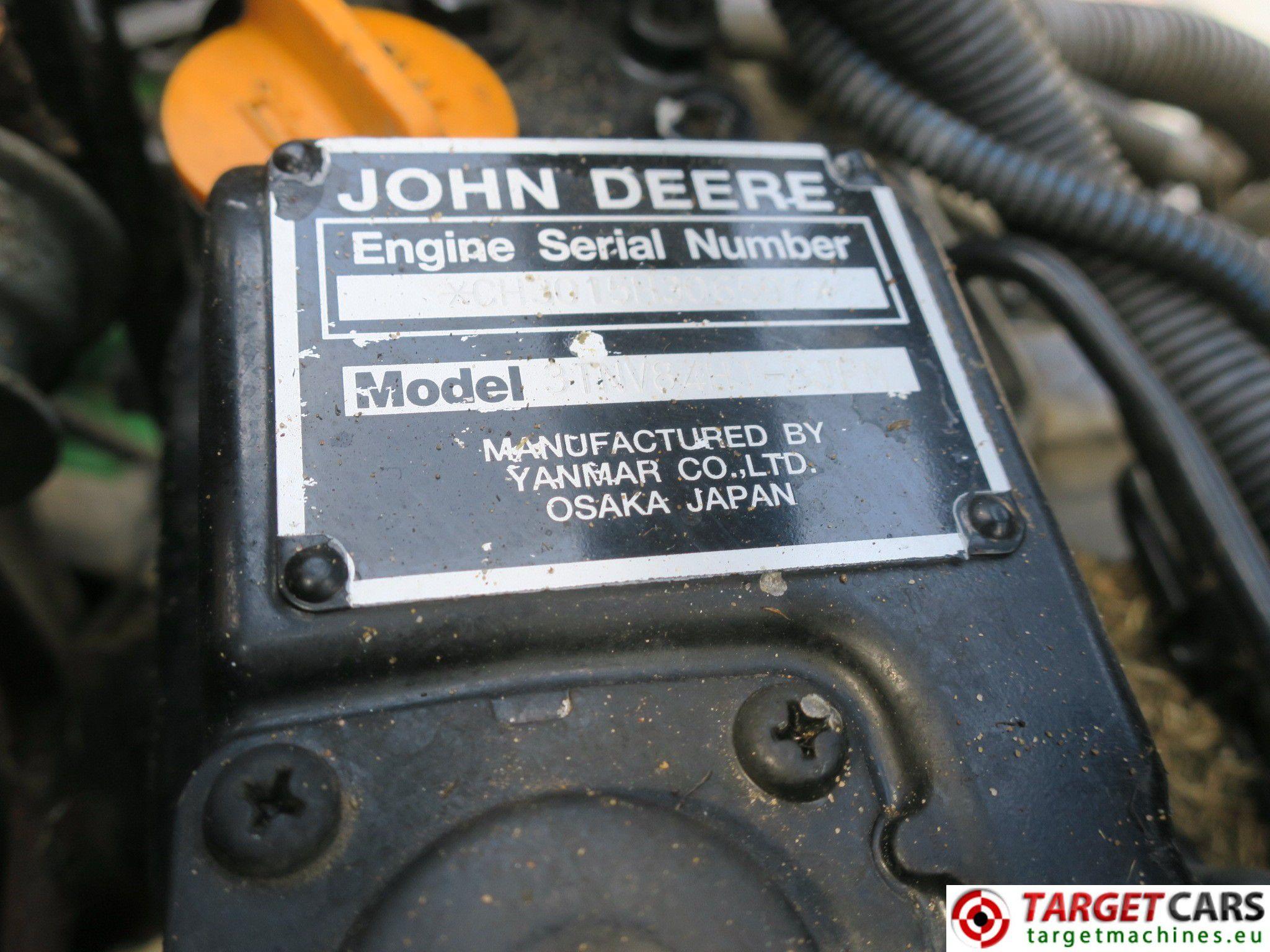 JOHN DEERE 8700 PRECISION CUT 5 GANG HYDROSTATIC CYLINDER 254CM WIDTH MOWER  2008