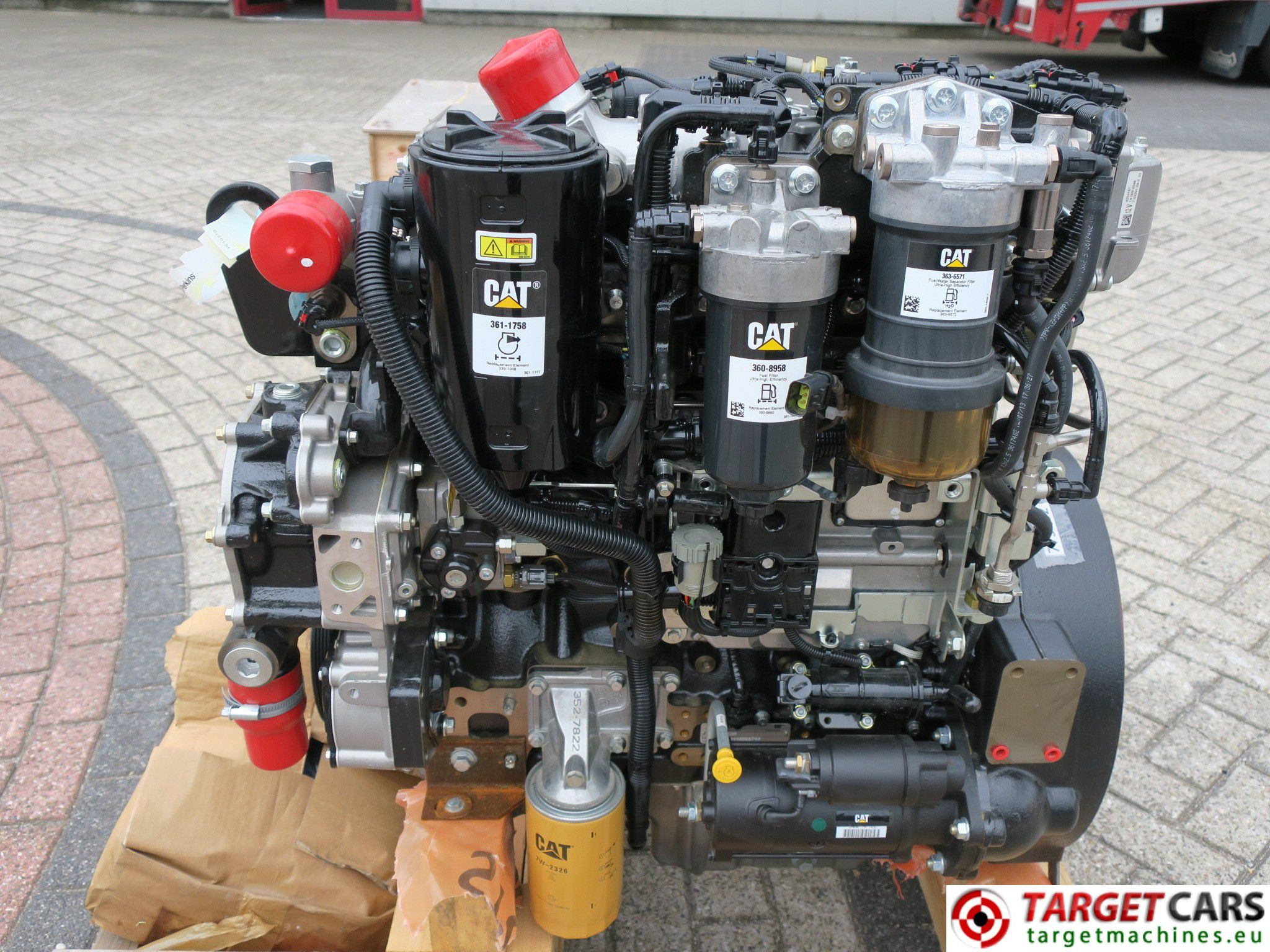 CAT C4 4 3640 4544420 DIESEL 4-CYLINDER ENGINE 92 6KW-2200RPM NEW/UNUSED