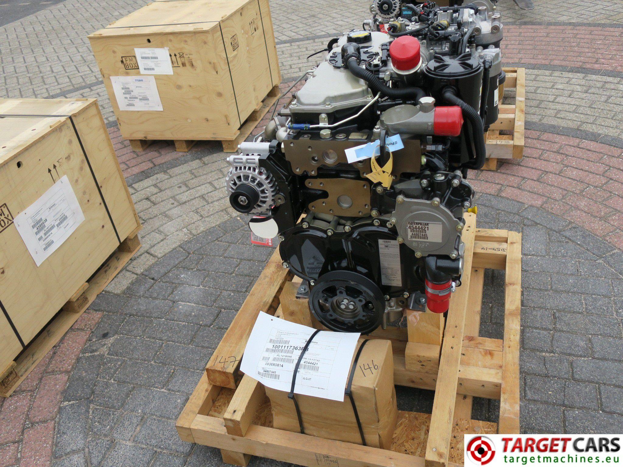 CAT C4 4 3638 4544421 DIESEL 4-CYLINDER ENGINE 106KW-2200RPM NEW/UNUSED