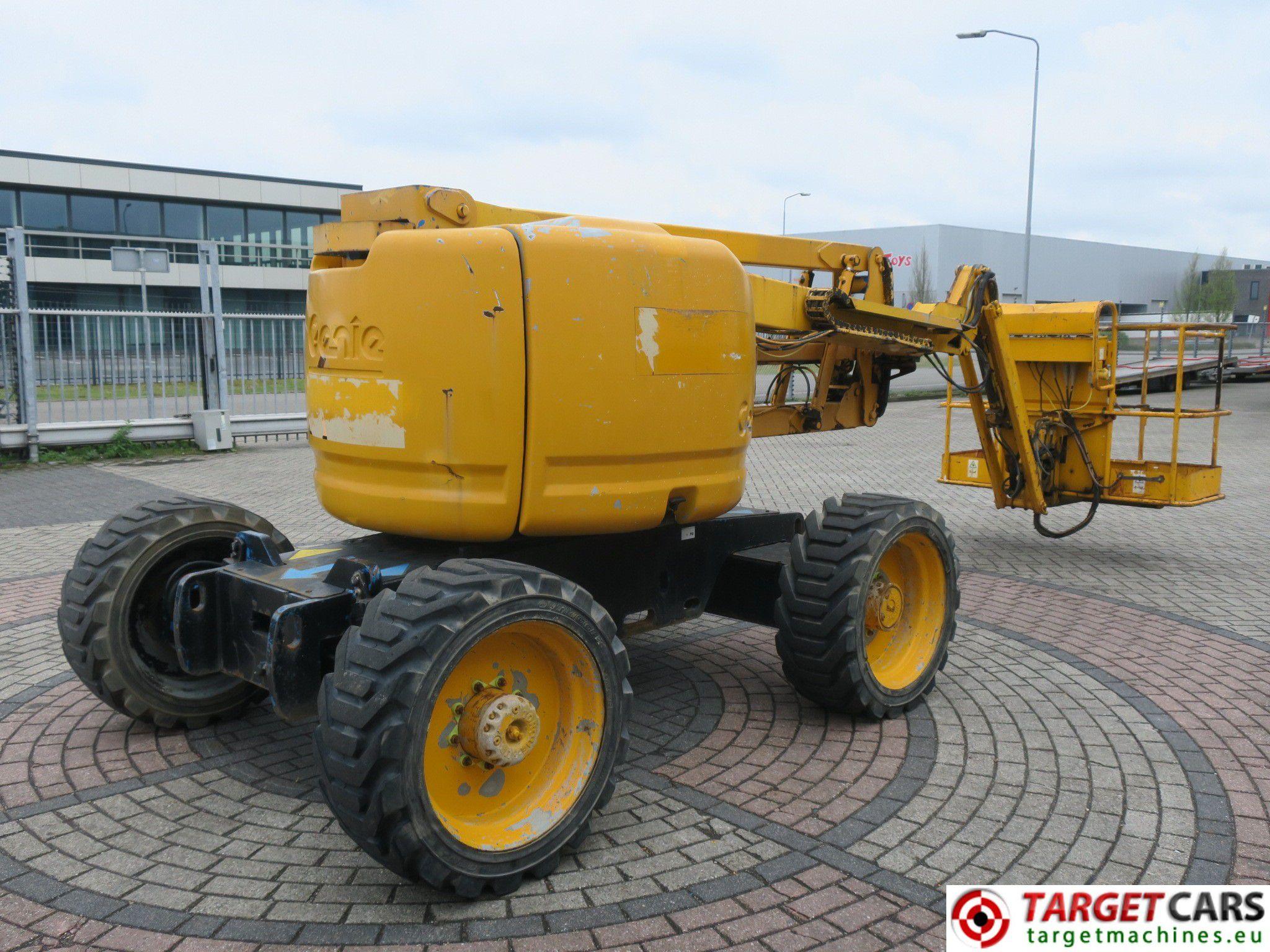 Genie Z 45 25jrt Boom 4x4 Z45 Diesel Articulated Work Lift Wiring Diagram W Jib 1580cm 12 04 3488hrs
