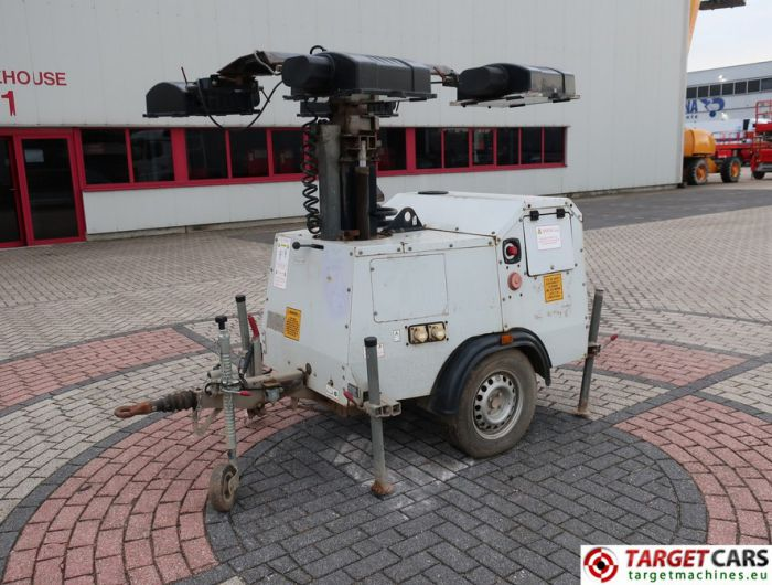 SMC TL90 MOBILE LIGHTNING TOWER TL-90 TOWER LIGHT 900CM W/GENERATOR 230V 2007 6348H