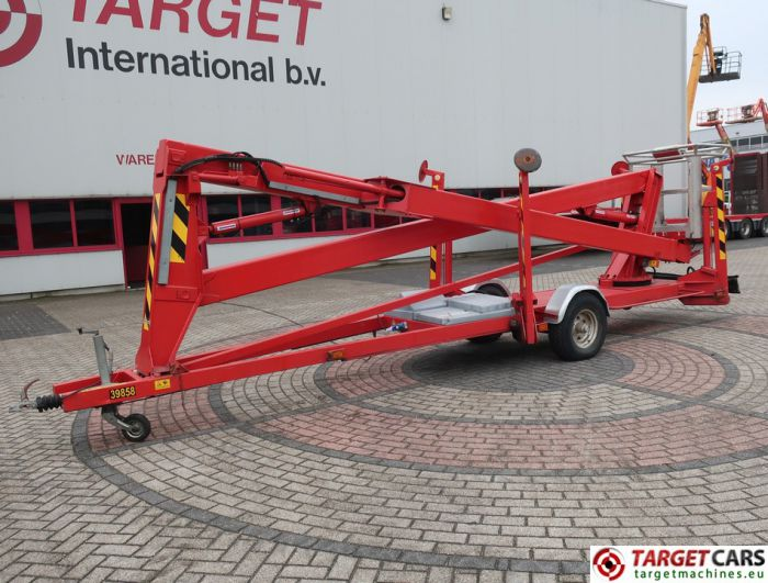 SKY HIGH 1800 TOWABLE ARTICULATED BOOM WORK LIFT 1800CM 1998 ELECTRIC 230V NL-REG WP-HD-01