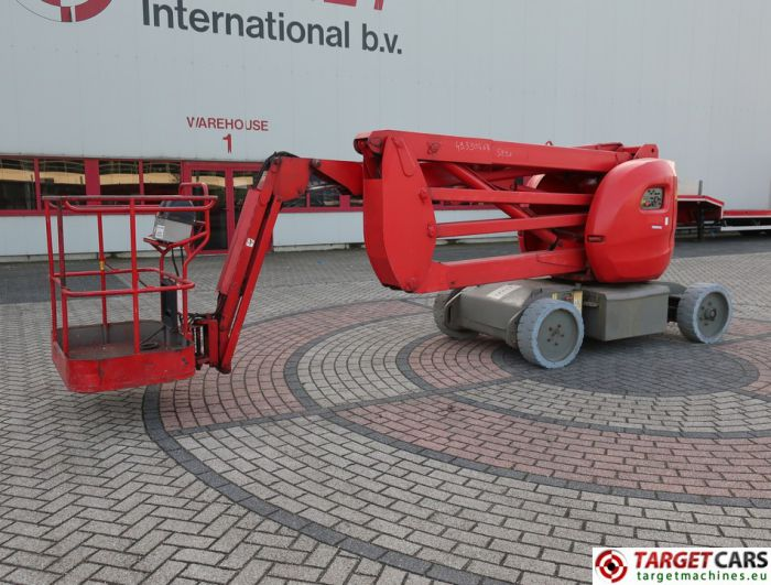 MANITOU 150AETJC ARTICULATED ELECTRIC BOOM WORK LIFT W/JIB 1500CM 2007 512406