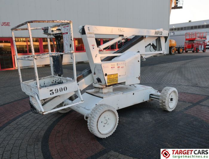 NIFTYLIFT HR12E ARTICULATED ELECTRIC BOOM WORKLIFT 2007 1220CM 12-17231