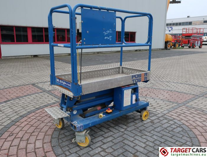 POWER TOWER PUSH AROUND ELECTRIC WORK LIFT 2012 510CM 18021112A