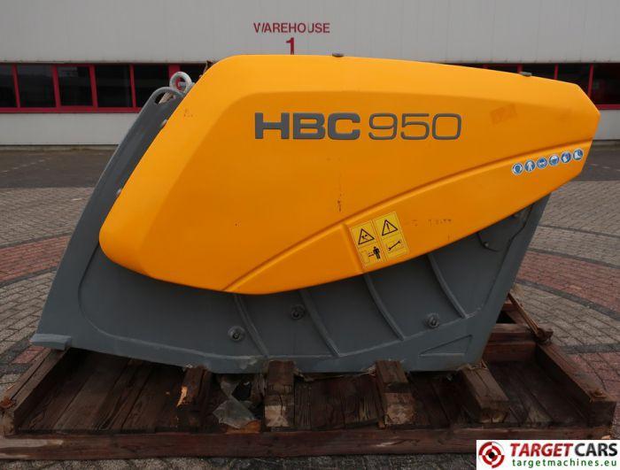 HARTL HBC 950 CRUSHER HBC950 BUCKET 950MM 2014 CC00950140051 UNUSED TO FIT ≥ 24T