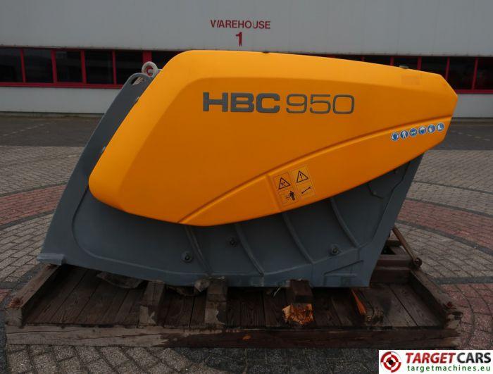 HARTL HBC 950 CRUSHER HBC950 BUCKET 950MM 2014 CC00950140046 UNUSED TO FIT ≥ 24T