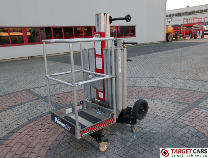 REECHCRAFT POWERLIFT PL50 VERTICAL MAST WORKLIFT 619CM 2013 S10526