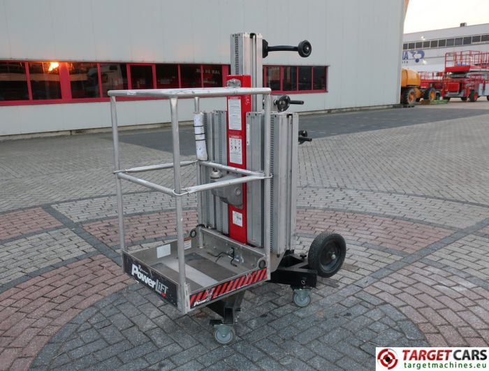 REECHCRAFT POWERLIFT PL50 VERTICAL MAST WORKLIFT 619CM 2013 S10659