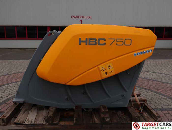 HARTL HBC 750 CRUSHER HBC750 BUCKET 750MM 2014 CC00750140041 UNUSED TO FIT ≥ 18T