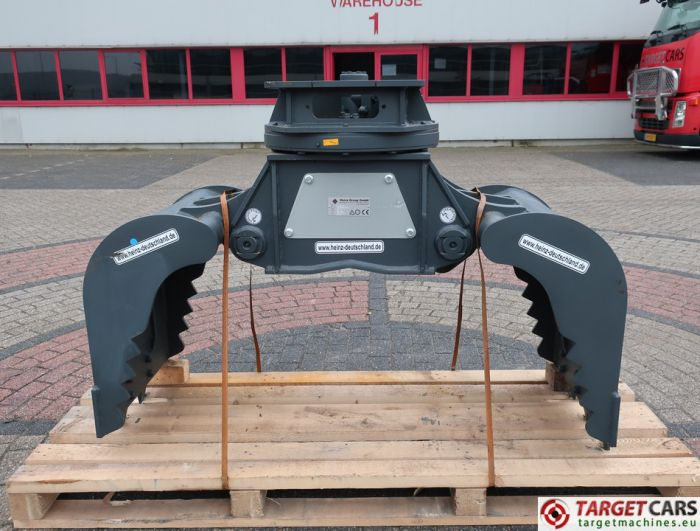 HEINZ HT452CH ROTATING HT-452CH DEMOLITION / SCREENING / SORTING GRAPPLE BUCKET W/JAWS 2018 TO FIT 5~12T 18000410C