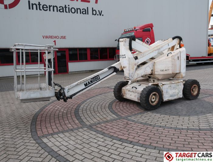 MANITOU 150AET ELECTRIC ARTICULATED BOOM WORK LIFT 1500CM 1997 500480
