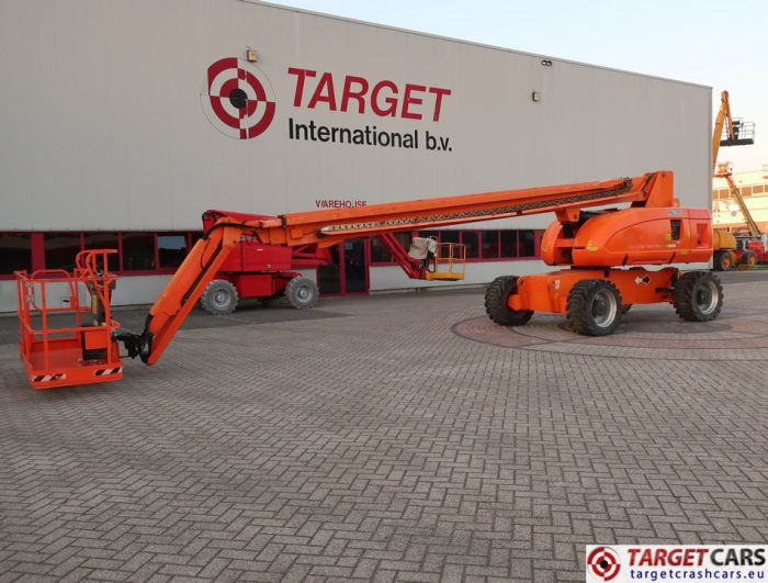 JLG 860SJ DIESEL 4X4 TELESCOPIC BOOM WORK LIFT W/JIB 2821CM 12-07 0300122946 4241HRS