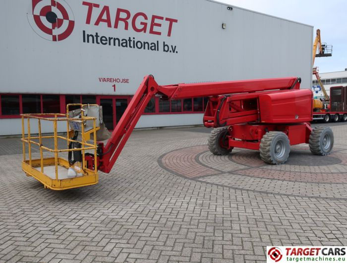 HAB GT20JE4WD ARTICULATED 4x4 ELECTRIC BOOM WORKLIFT 2010 2006CM 699HRS