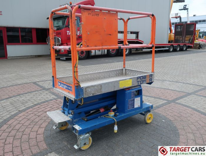 POWER TOWER PUSH AROUND ELECTRIC WORK LIFT 2012 510CM 17700612A