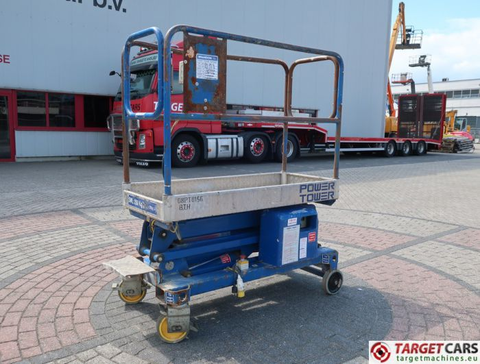 POWER TOWER PUSH AROUND ELECTRIC WORK LIFT 2010 510CM 1259101A