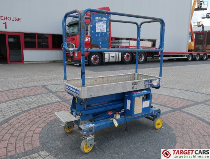 POWER TOWER PUSH AROUND ELECTRIC WORK LIFT 2010 510CM 11990210A