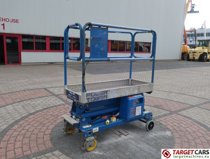 POWER TOWER PUSH AROUND ELECTRIC WORK LIFT 2009 510CM 11634809A