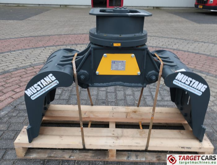 MUSTANG MG25 ROTATING MG-25 DEMOLITION / SCREENING / SORTING GRAPPLE BUCKET 2018 TO FIT 3~8T AH81975