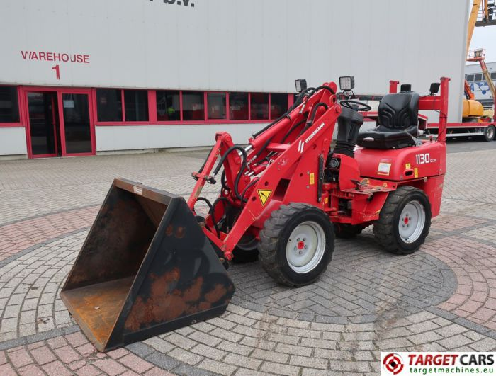 WEIDEMANN 1130 CX30 MINI WHEEL LOADER 4WD DIESEL 2007