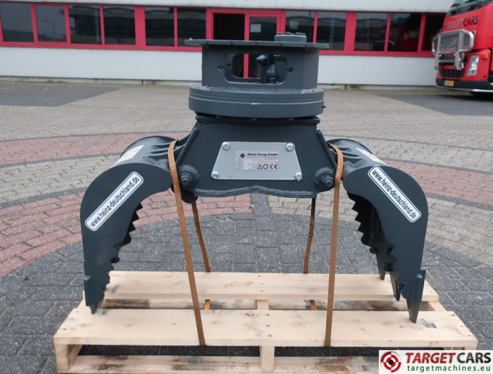 HEINZ HT152CH ROTATING HT-152CH DEMOLITION / SCREENING / SORTING GRAPPLE BUCKET 2018 TO FIT 1.5~4T 18000125C
