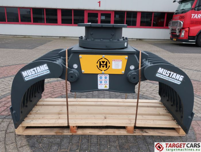 MUSTANG GRP1500D DEMOLITION / SCREENING / SORTING GRAPPLE BUCKET 2018 TO FIT 13~19T AH82080