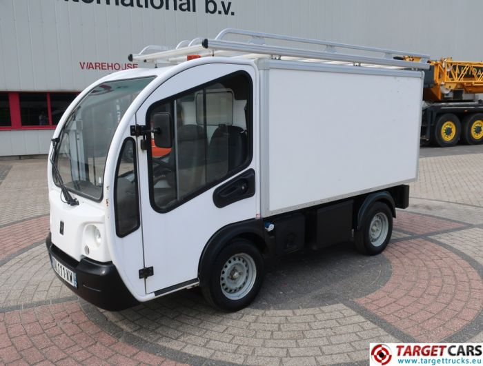 GOUPIL G3 ELECTRIC UTILITY VEHICLE UTV CLOSED BOX LONG VAN 09-2015 WHITE 16221KM