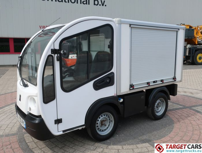 GOUPIL G3 ELECTRIC UTILITY VEHICLE UTV CLOSED BOX VAN 11-2014 WHITE 25204KM