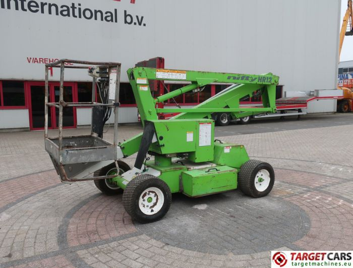 NIFTYLIFT HR12NDE NIFTY ARTICULATED BI-FUEL BOOM WORKLIFT 2006 1220CM 12-14113