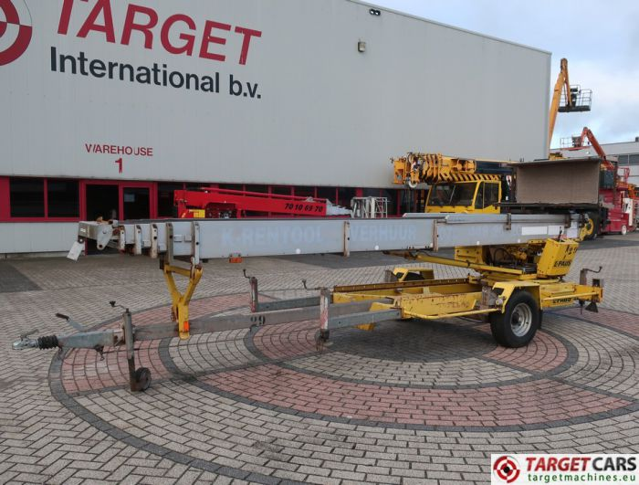 PAUS ASA 30WH TOWABLE MATERIAL LADDER LIFT 3000CM 2006 NL-REG WT-FP-44
