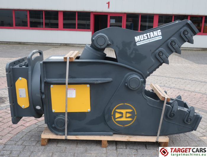 MUSTANG RH16 HYDRAULIC ROTATION PULVERIZER CRUSHER SHEAR RH-16 2019 TO FIT 12~22T EXCAVATOR AH91556