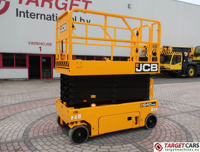JCB S4046E ELECTRIC SCISSOR WORK LIFT 1390CM 2017 2HRS 2534139 NEW UNUSED