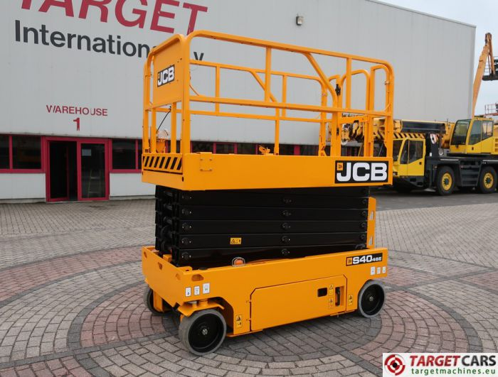 JCB S4046E ELECTRIC SCISSOR WORK LIFT 1390CM 2017 2HRS 2533876 NEW UNUSED