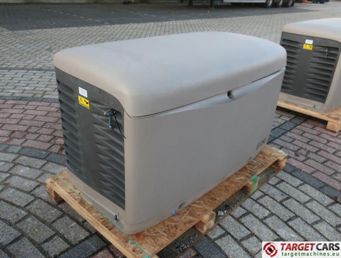 SDMO RESA14TEC RESIDENTIAL GAS GENERATOR 12KVA 400V/230V KOHLER ENGINE NEW/UNUSED 2015 SGM32CWG9