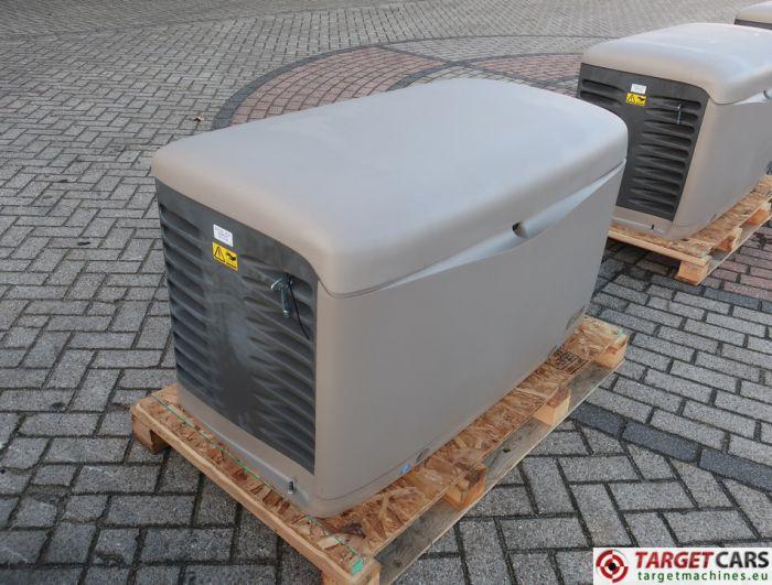 SDMO RESA14TEC RESIDENTIAL GAS GENERATOR 12KVA 400V/230V KOHLER ENGINE NEW/UNUSED 2015 SGM32CWFW